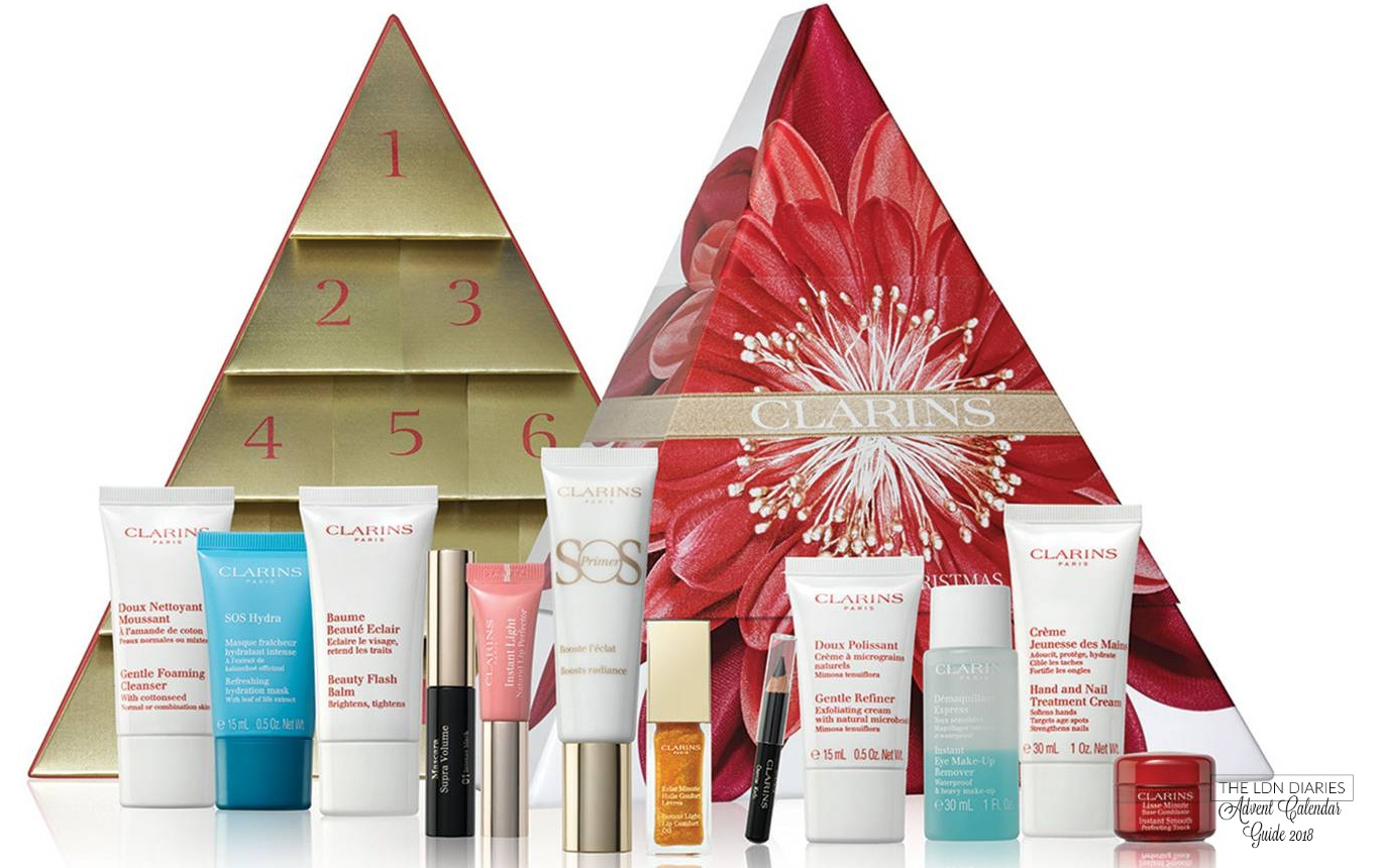 Clarins Advent Calendar 2018 - The LDN Diaries
