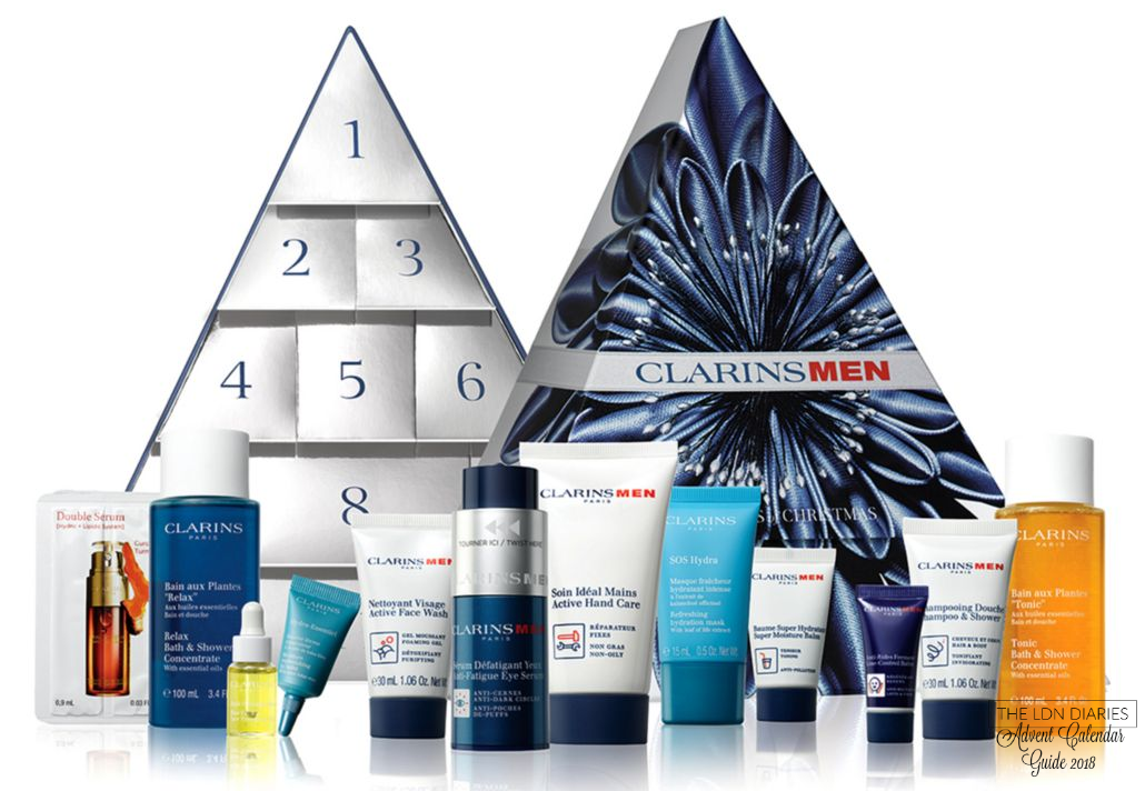 Clarins Mens Advent Calendar 2018 - The LDN Diaries