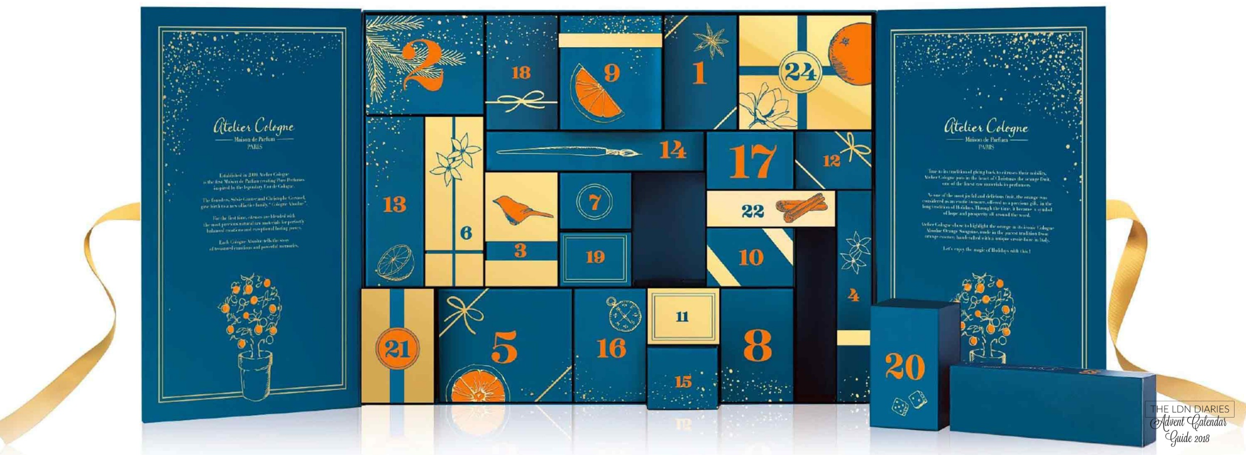 Atelier Cologne Advent Calendar 2018 - The LDN Diaries