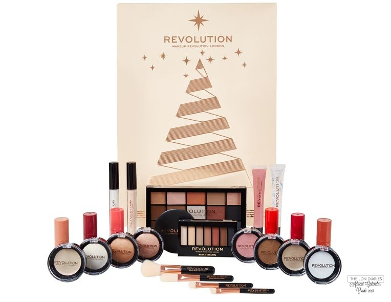 Makeup Revolution advent calendar 2018 - The LDN Diaries
