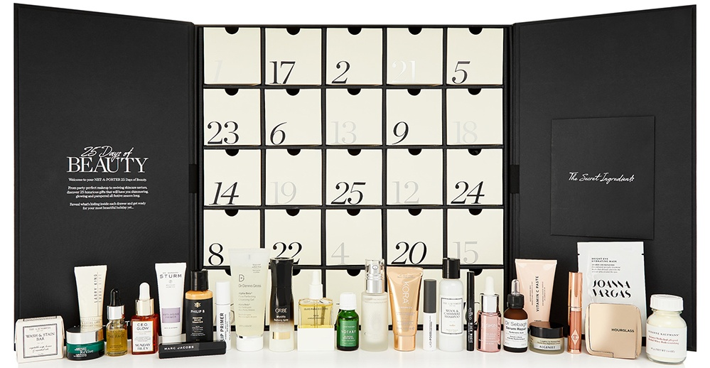 Net a Porter beauty advent calendar 2019 - The LDN Diaries