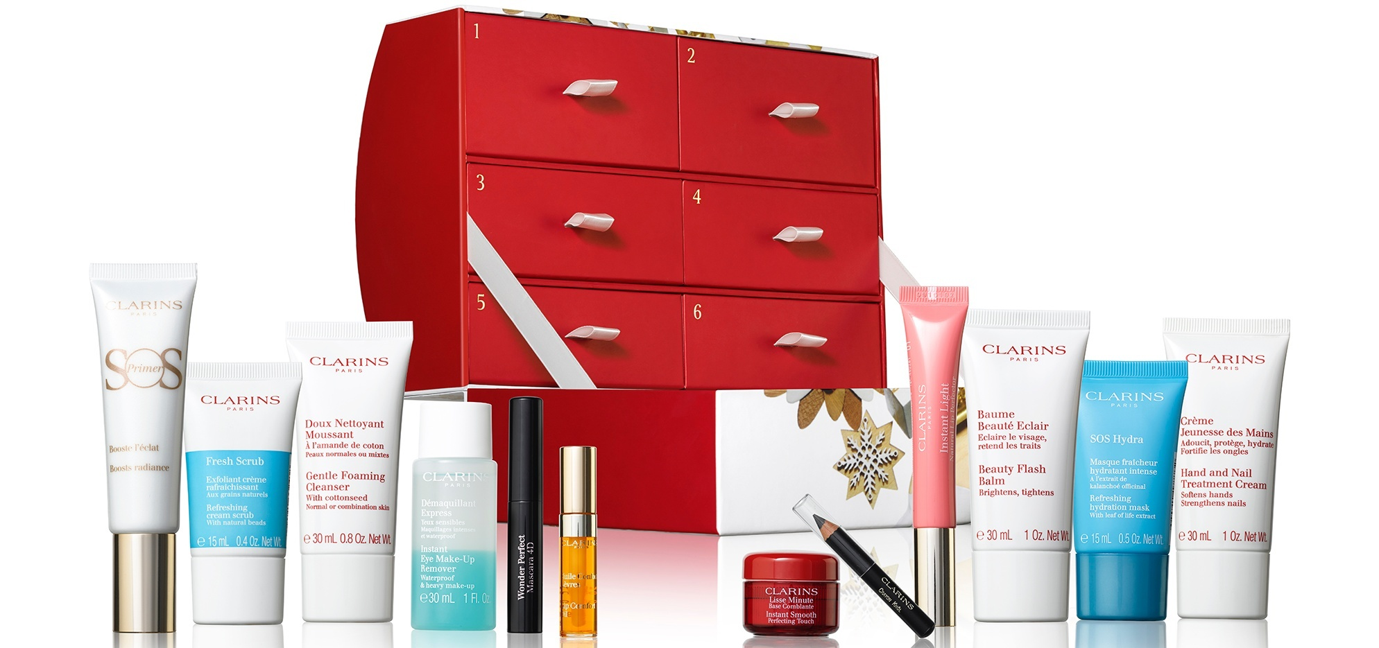 Clarins advent calendar 2019 - The LDN Diaries