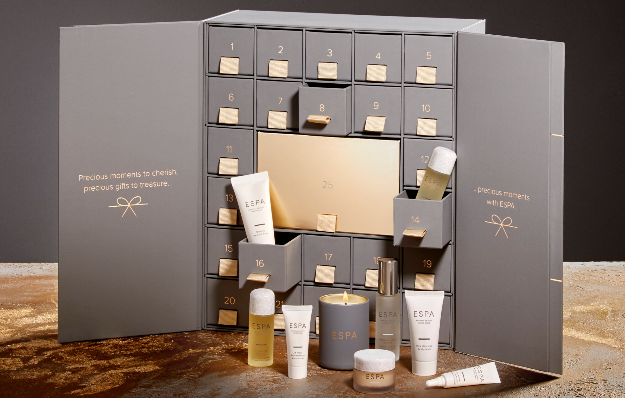 ESPA advent calendar 2019 - The LDN Diaries