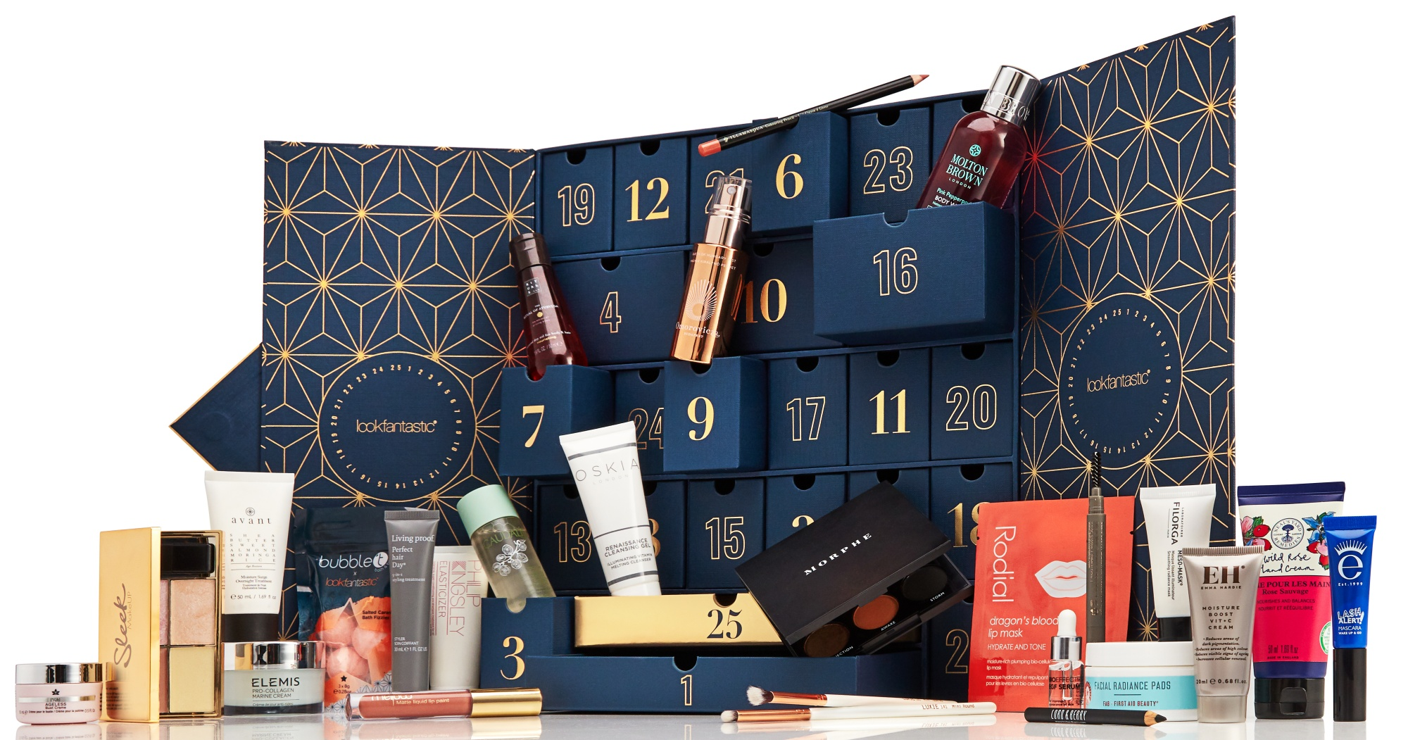 look fantastic advent calendar 2019 - The LDN Diaries