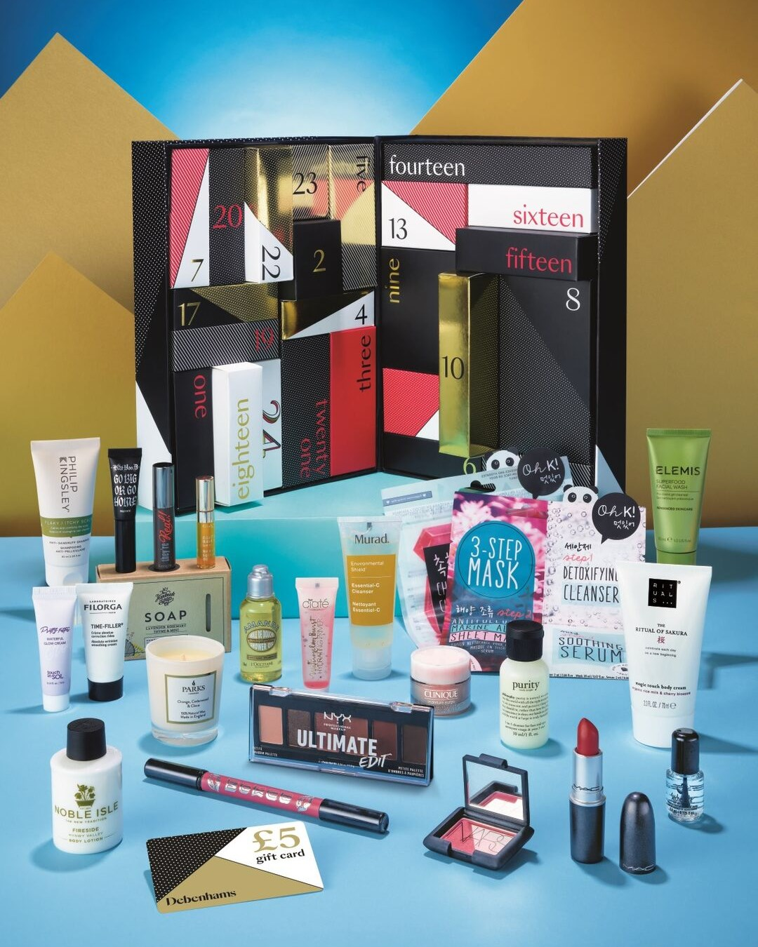 Debenhams Beauty Advent Calendar 2019