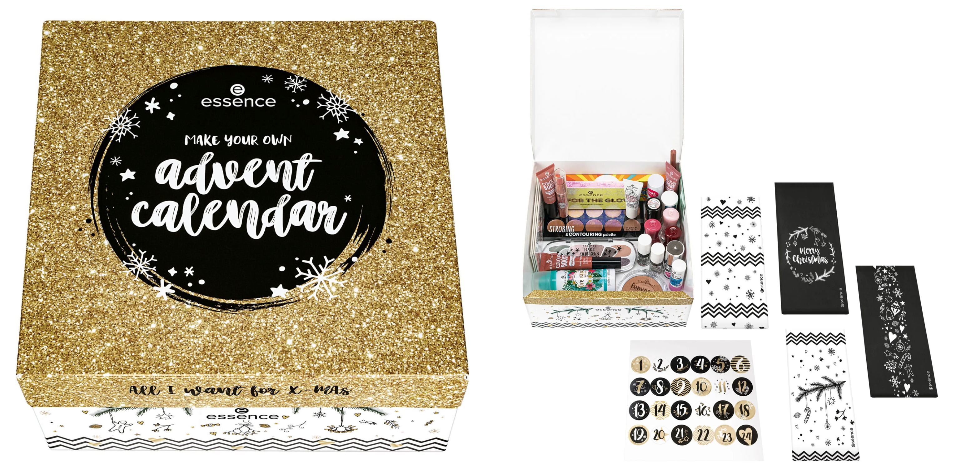 Essence make your own advent calendar 2019