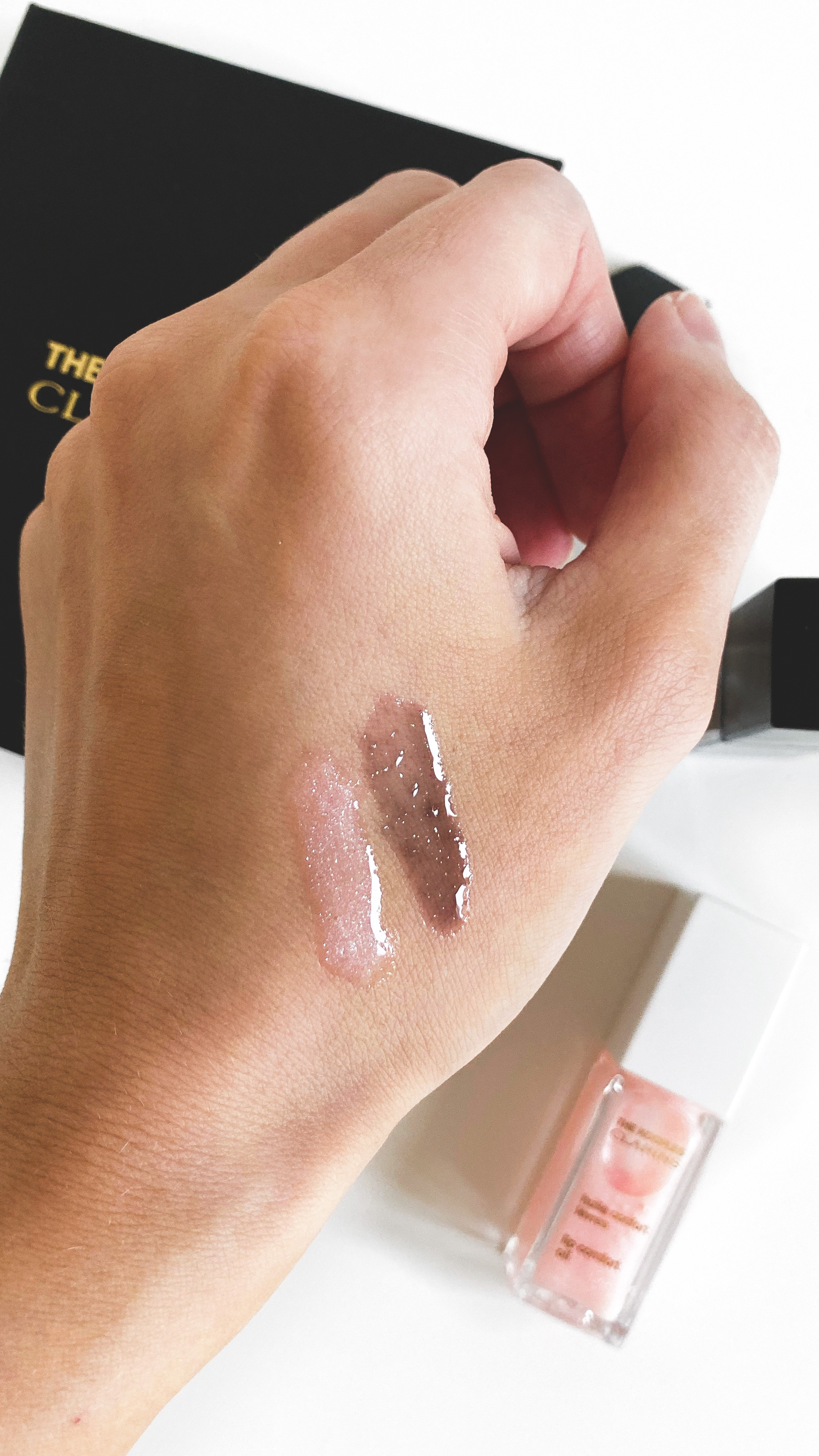 Clarins x The Kooples Comfort Lip Oils Swatch - The LDN Diarie