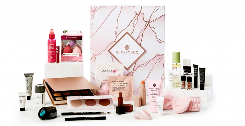 Glossybox Advent Calendar 2020 Contents