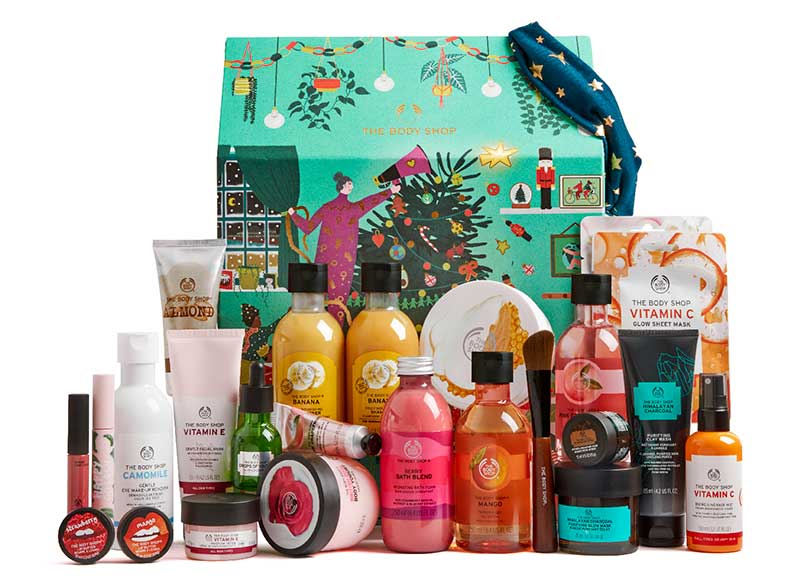 The Body Shop ultimate advent calendar 2020