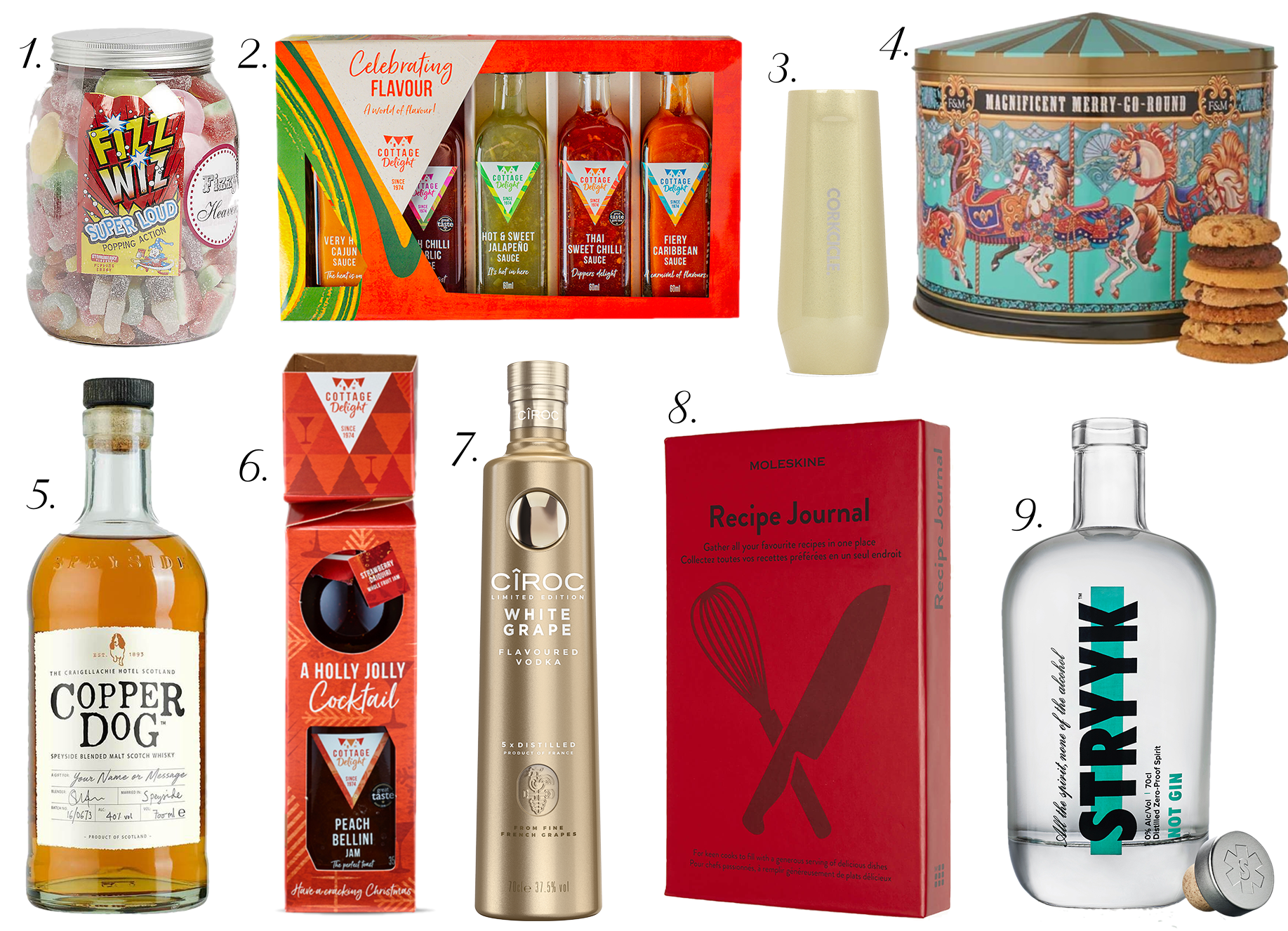 Foodie Gift Ideas Christmas Gift Guide 2019 - The LDN Diaries