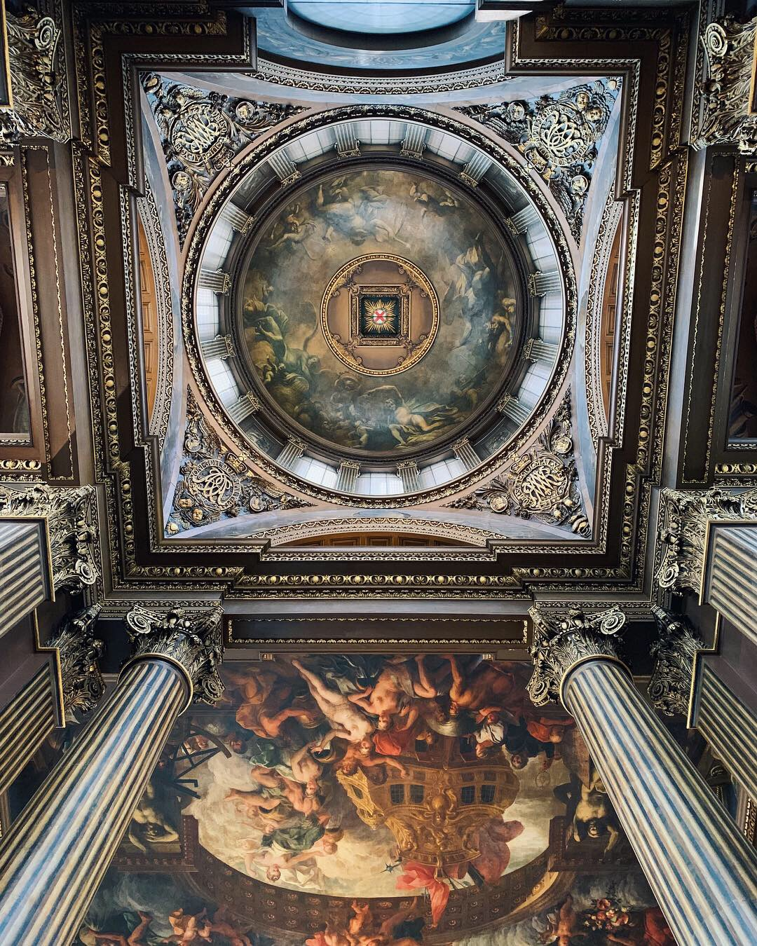 Painted Hall Old Royal Naval College London - The LDN Diaries