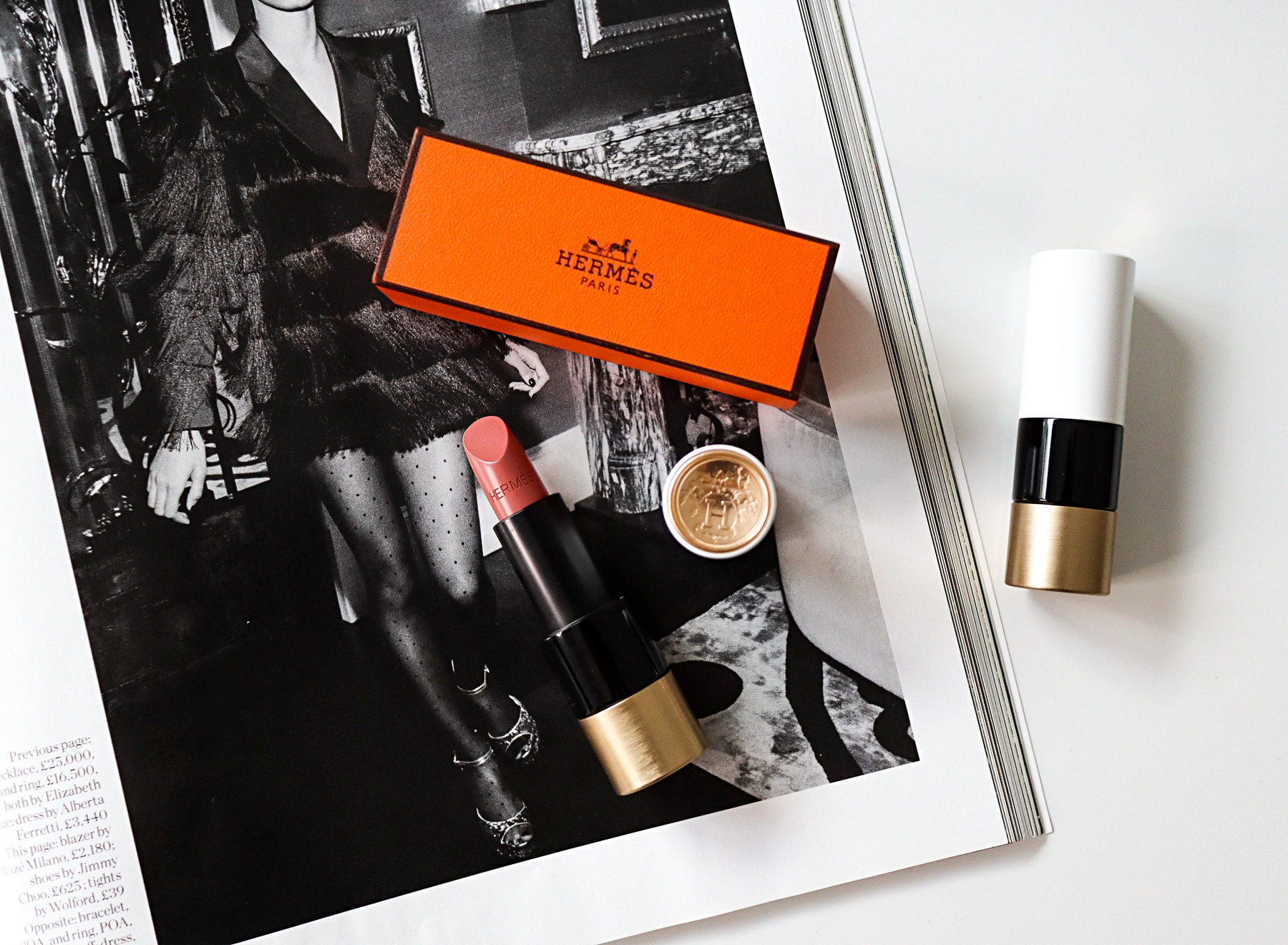 Hermes Rouge Lipstick Beige Kalahari 13 Review | The LDN Diaries