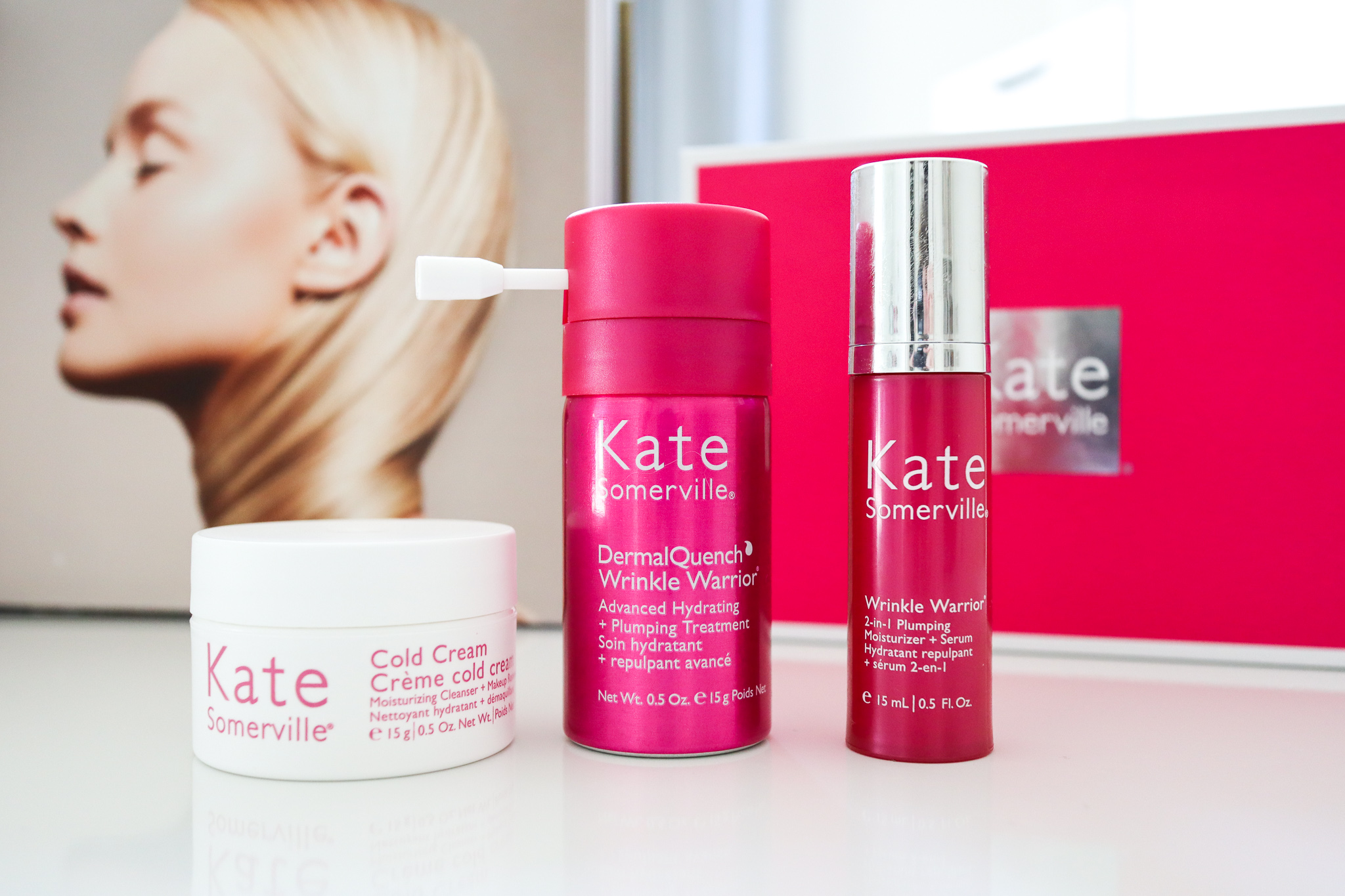 Kate Somerville Wrinkle Warrior Try Me Kit