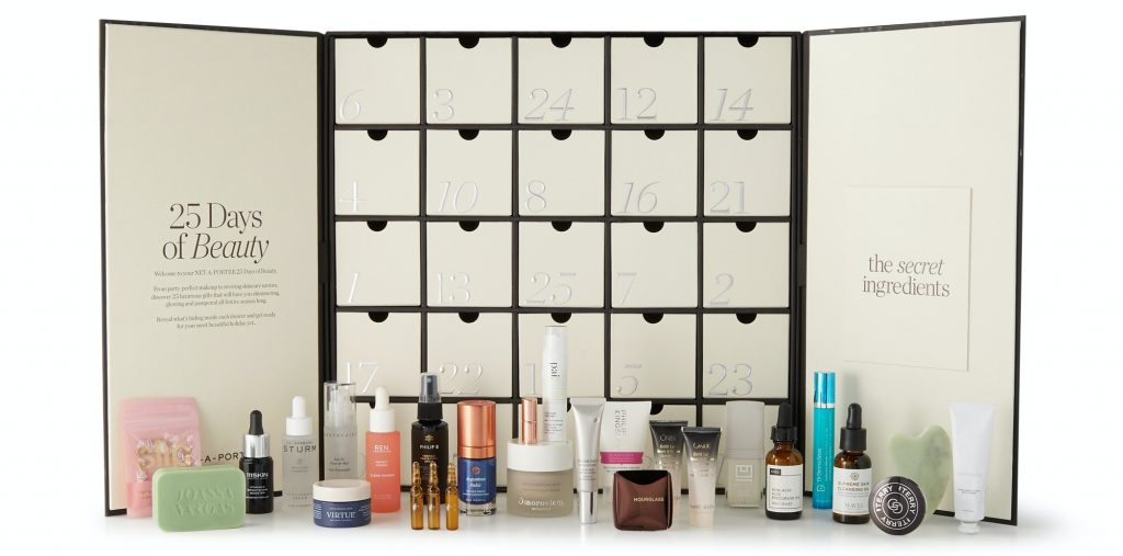 Net A Porter Advent Calendar 2020 Contents